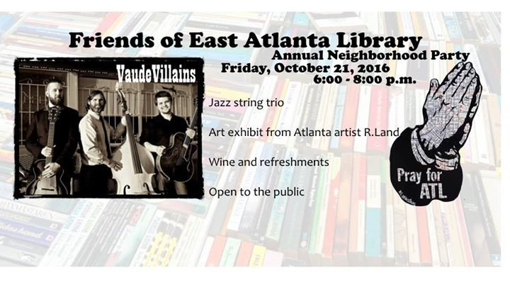 Friends of East Atlanta Library cover