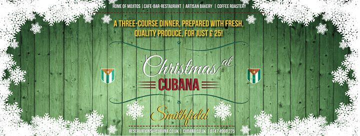 Cubana Bar-Restaurant, Smithfield cover