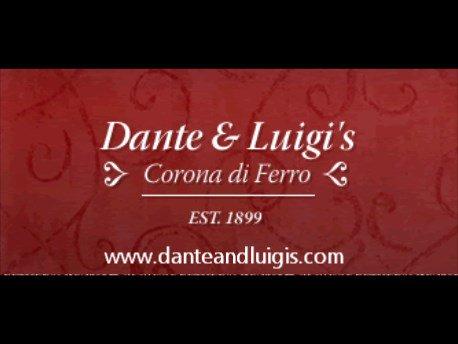 Dante & Luigis Restaurant cover