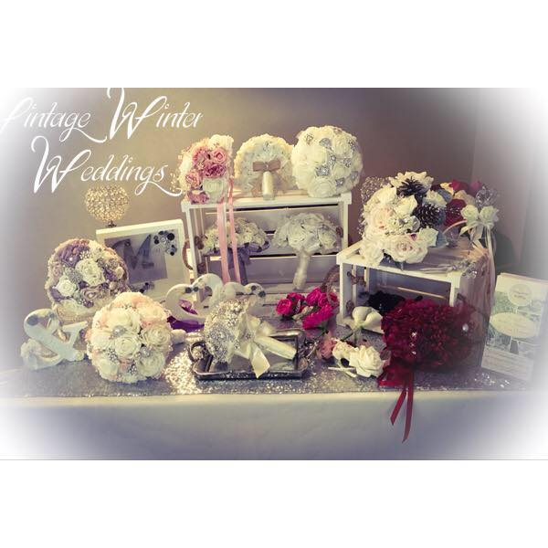 Vintage Winter Weddings, Events & Gifts cover