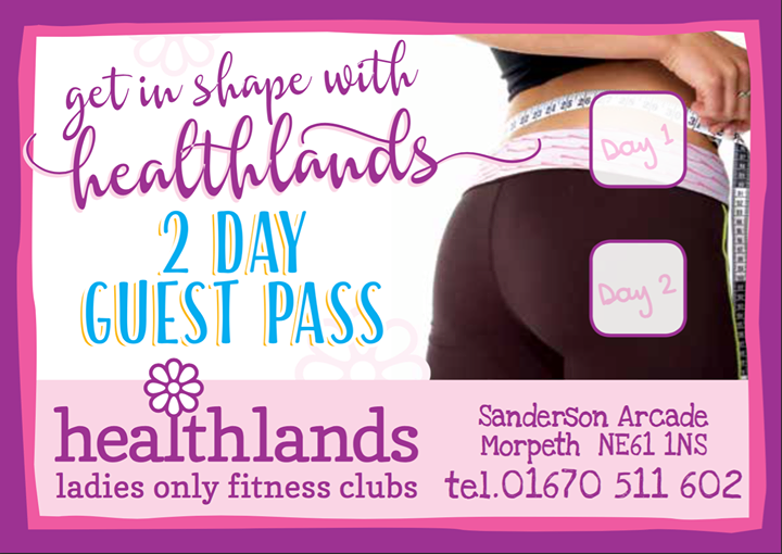 Healthlands Ladies Fitness Morpeth cover