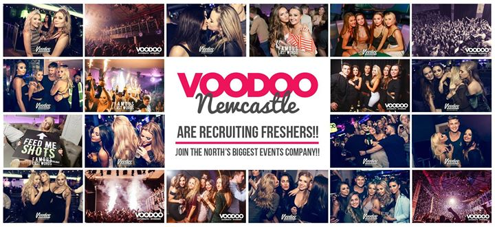 Voodoo Events Newcastle cover