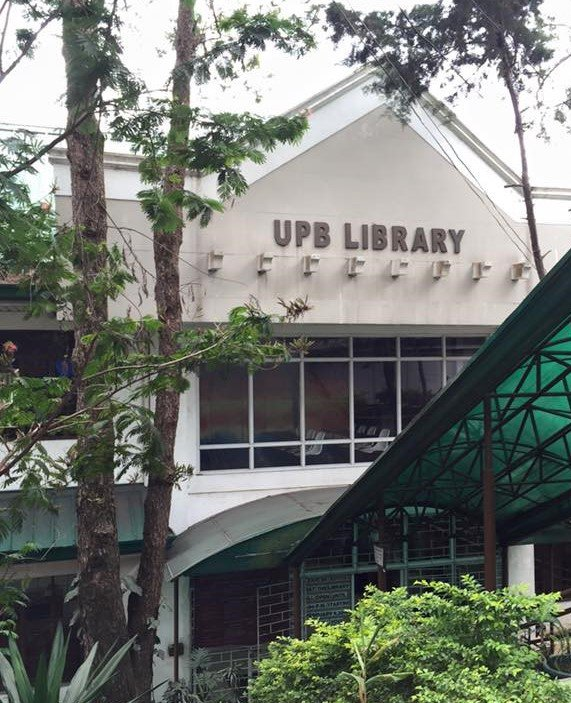 University of the Philippines Baguio Library cover