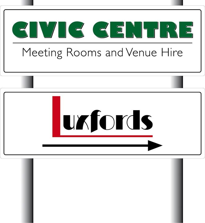 The Civic Centre and Luxfords Restaurant, Uckfield cover