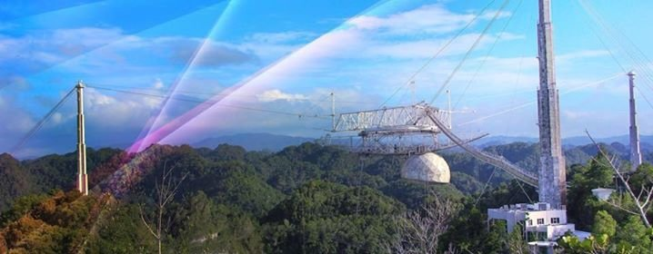 The Arecibo Observatory cover
