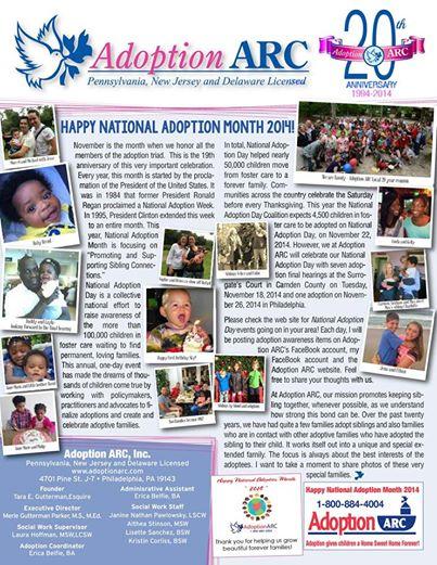 Adoption ARC cover
