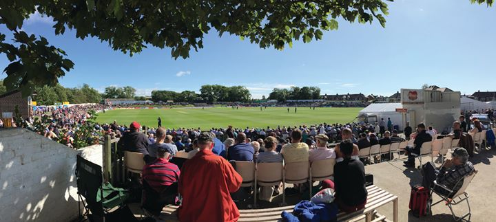 Blackpool Cricket Club cover