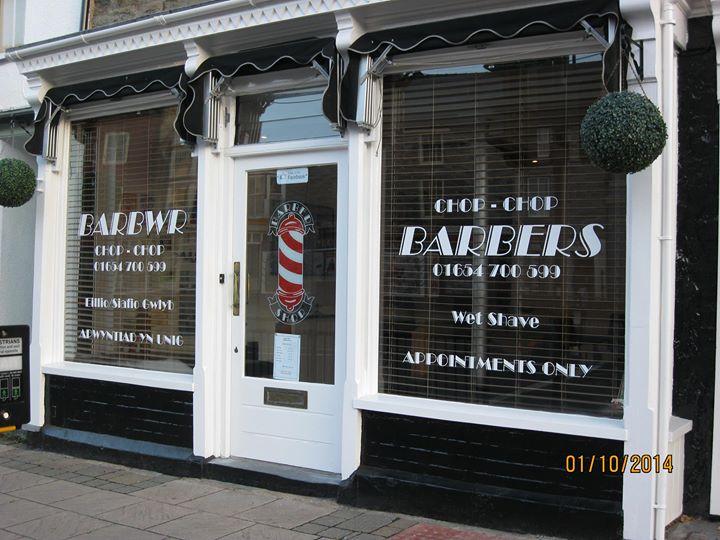Barbwr Chop Chop Barbers - Machynlleth, United Kingdom