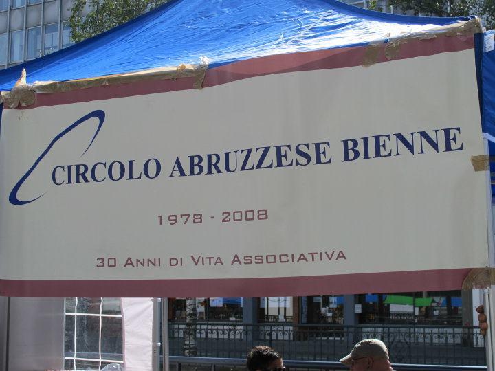 CIRCOLO ABRUZZESE BIENNE cover