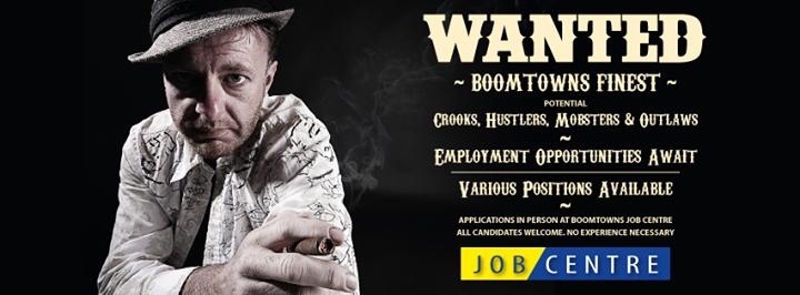 Boomtown Jobcentre cover
