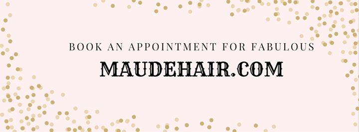 Maude Salon cover
