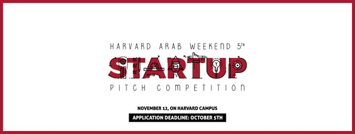 Harvard Arab Startup Pitch cover