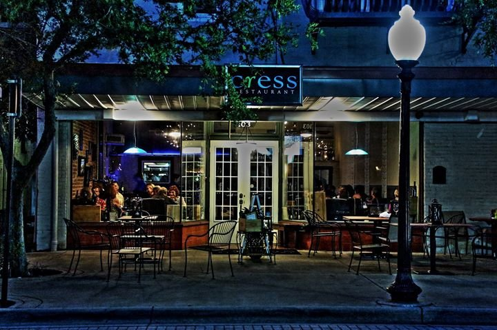 Cress Restaurant cover