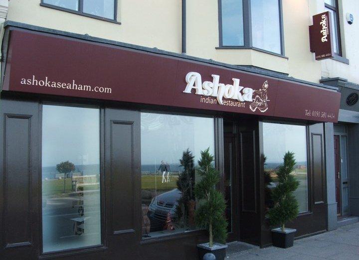 Ashoka Indian restaurant - Seaham cover