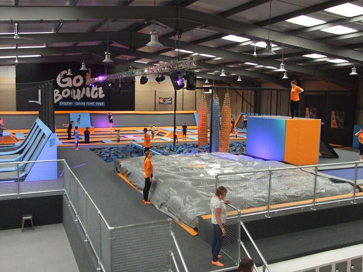 Go Bounce Extreme Trampoline Park cover