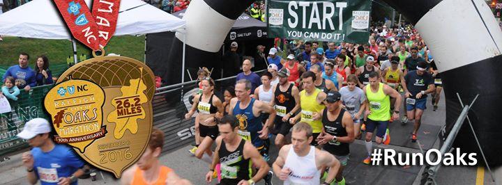 Raleigh City of Oaks Marathon cover