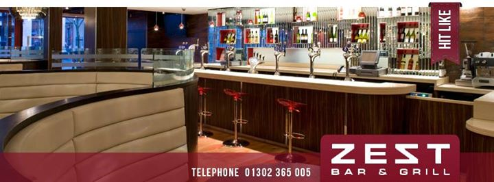Zest bar and grill doncaster cover