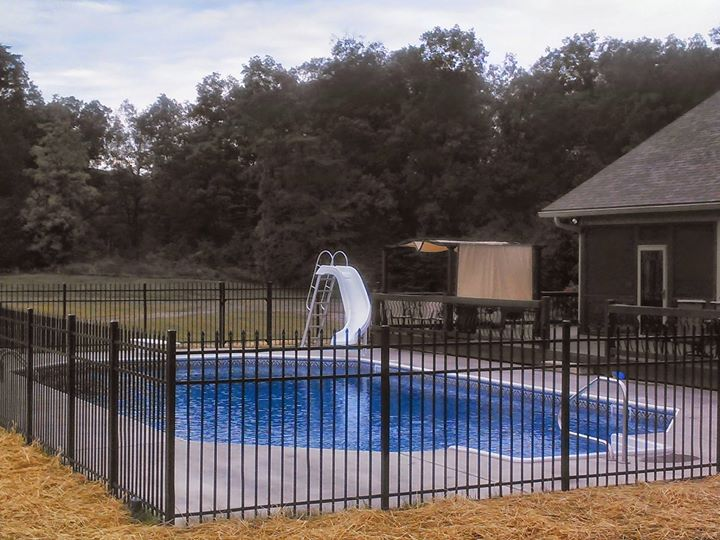 Martin pools and fence cover