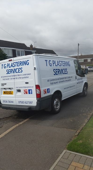 T G Plastering Services Limited cover