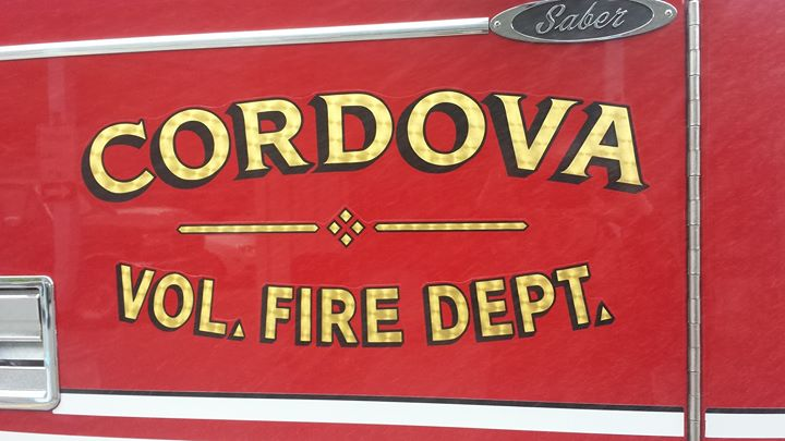 Cordova AK Firefighters cover