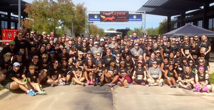 Red Coyote Running and Fitness cover