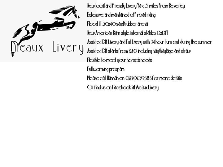 Meaux Livery cover