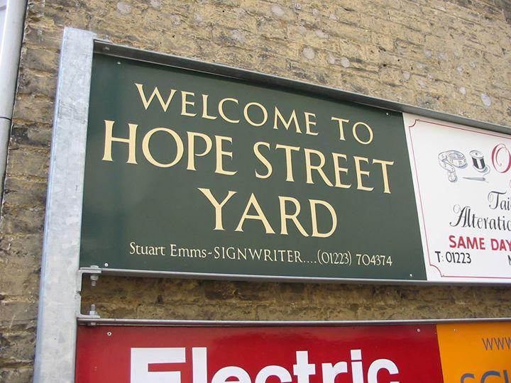 Hope Street yard cover
