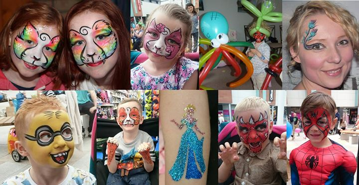 Face Paint Parties cover