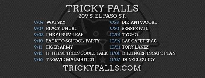 Tricky Falls cover