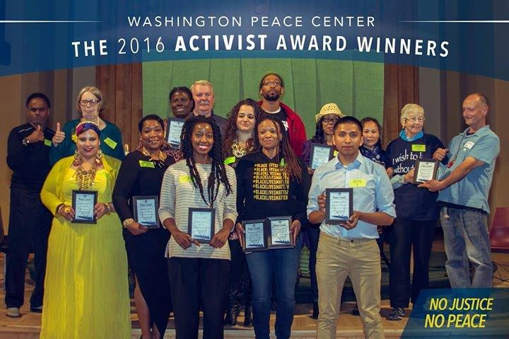 Washington Peace Center cover