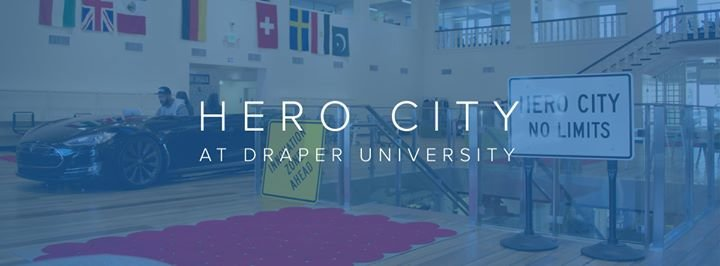 Hero City at Draper University cover