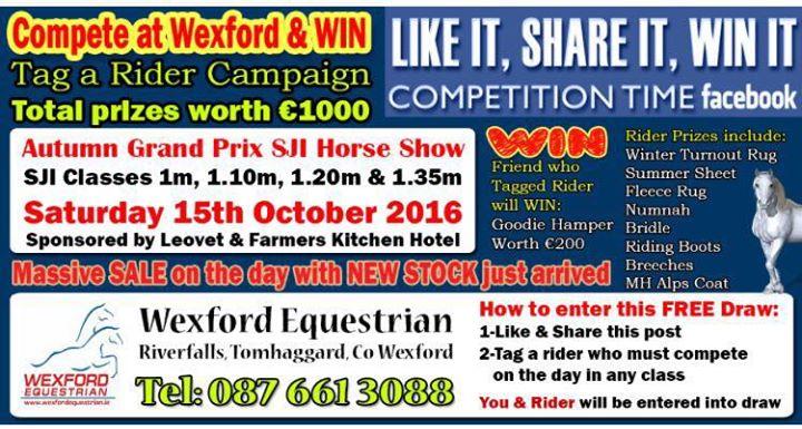 Wexford Equestrian Centre cover
