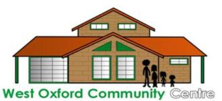 West Oxford Community Centre cover