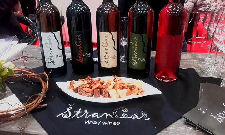 Vina Štrancar / Štrancar Wines cover