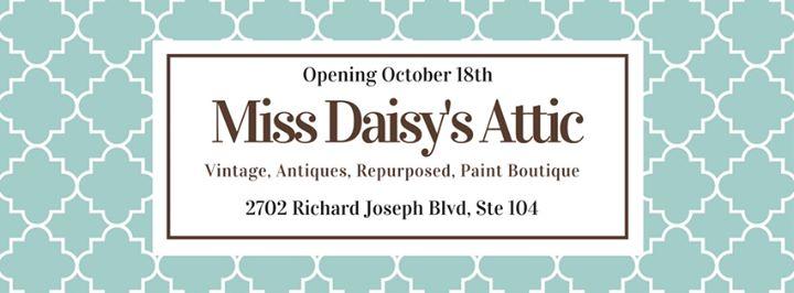 Miss Daisy's Attic cover