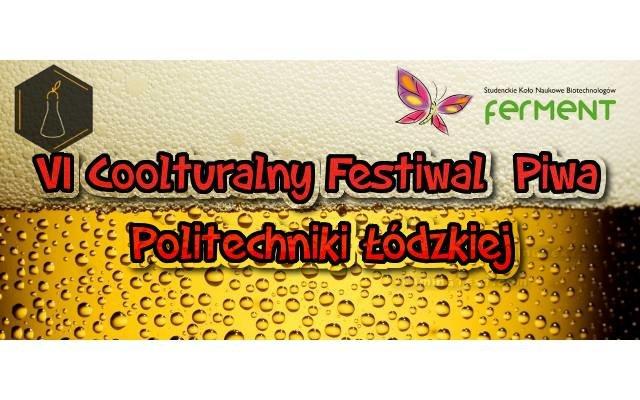 Coolturalny Festiwal Piwa Politechniki Łódzkiej cover