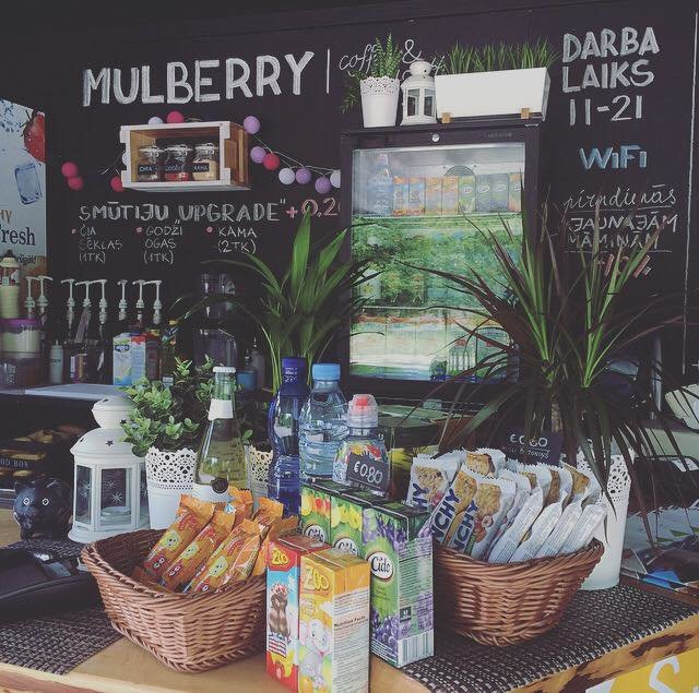 MULBERRY l coffee & smoothies cover