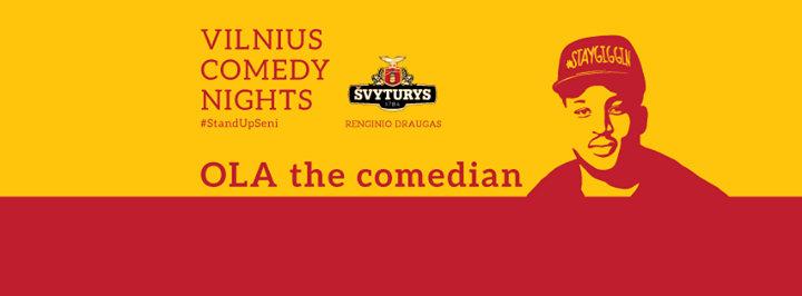 Vilnius Comedy Fest cover