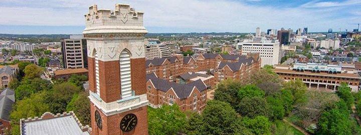 Vanderbilt University cover