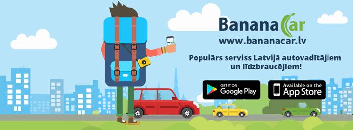 BananaCar.LV - Atrodi autovadītāju vai līdzbraucēju cover