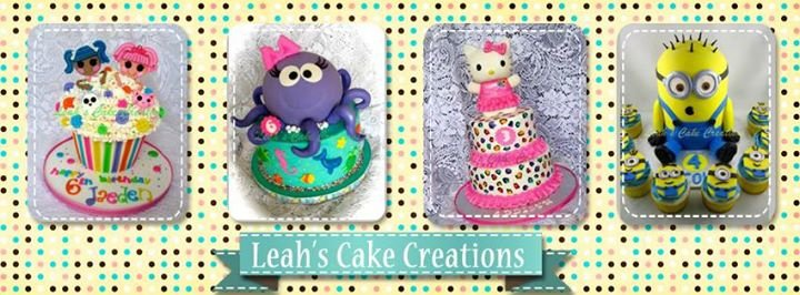 Leah's Cake Creations cover