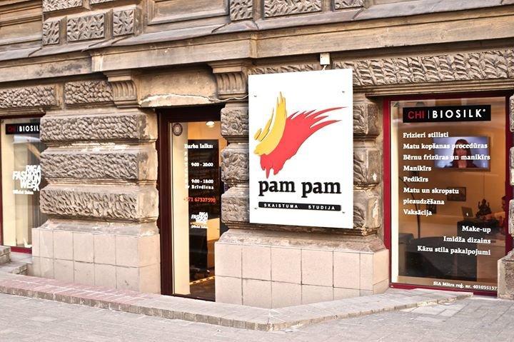 Pam Pam - Beauty studio cover