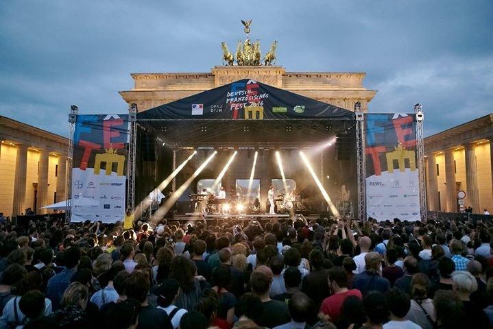 Jour de Fête Berlin - Das deutsch französische Fest cover