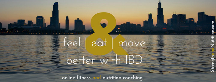 Strength and Nutrition with IBD cover