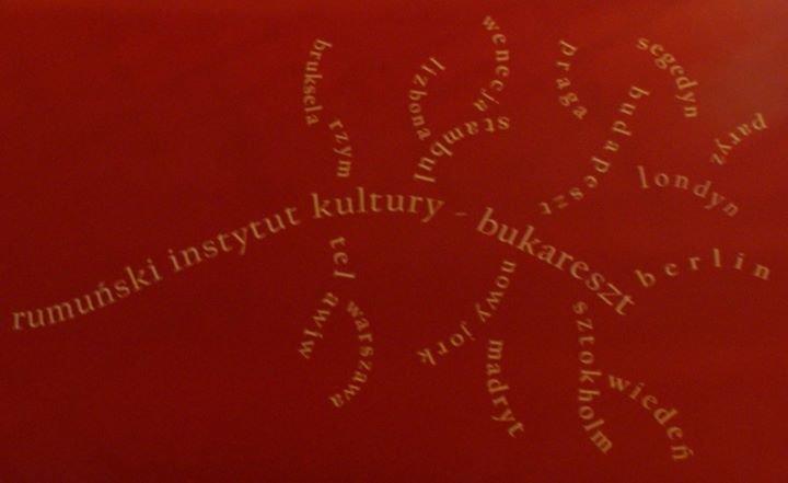 Rumuński Instytut Kultury w Warszawie cover