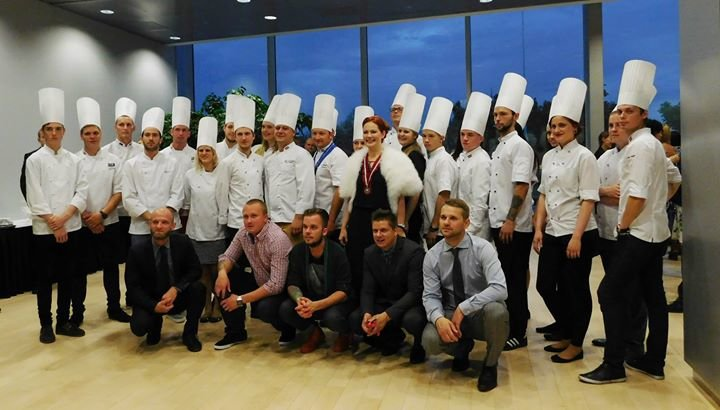 Pavāru klubs/Latvian Chefs'Club cover