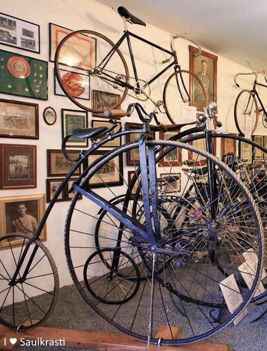 Saulkrasti Bicycle Museum - Velosipēdu muzejs cover