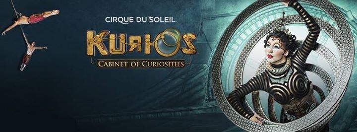 KURIOS by Cirque du Soleil cover