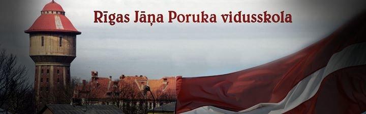 Rīgas Jāņa Poruka Vidusskola cover