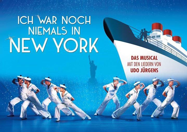 Ich war noch niemals in New York - Das Musical cover